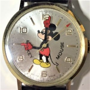 Disney Bradley Red Glove Mickey Watch - RARE!